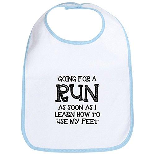 CafePress - Future Runner Bib - Cute Cloth Baby Bib, Toddler Bib