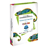Hammermill Paper, Premium Color Copy Cover Cardstock, 17x11 Paper, 60lb Paper, 100 Bright, 1 Pack / 250 Sheets (122556C) Heavy Paper, Card Stock White