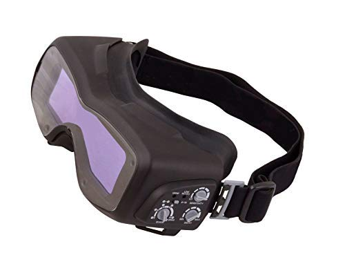 Steel Vision 32000 Auto Darkening Welding Helmet Mask Kit - Welding Goggles, Mask, Hood & Bump Cap by Steel Vision (Image #2)