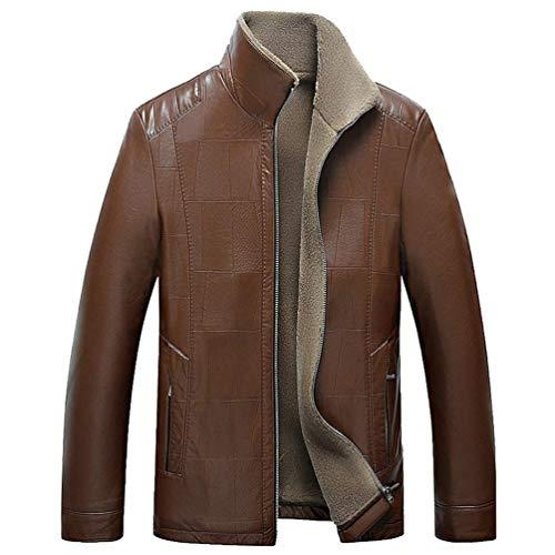Classico Con Ntel Invernali Pelle Cappotti Tuta Pelliccia Sportiva Uomini Abbigliamento Cappotto Giacca Caldo Huixin Bild Als Degli In XO1dO