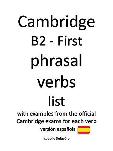 Amazon.com: Cambridge B2 - First phrasal verbs (versión ...