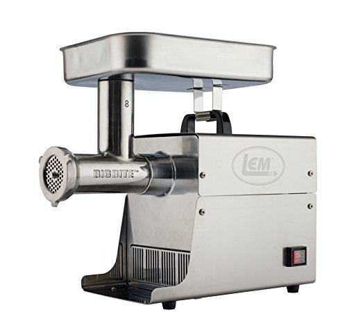 LEM Products 17791 Big Bite #8 .5HP Stainless Steel Electric Meat Grinder