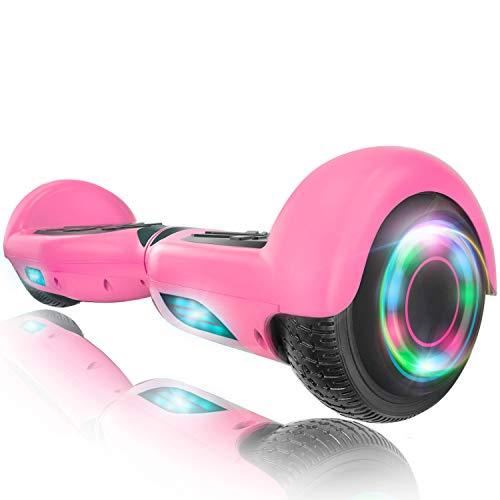 XPRIT Easter Sale Hoverboard w/Bluetooth Speaker (Pink)