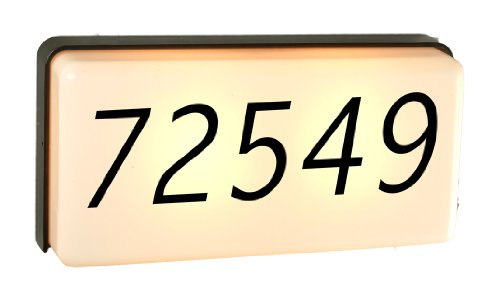 Outdoor Lighted Address Numbers - 3