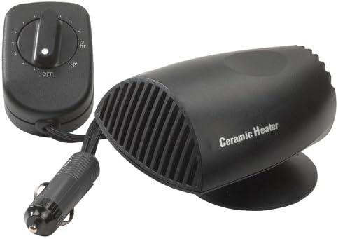 AUTOSTYLE Calefactor cerámica 12 V 200 W con Ventilador para ...