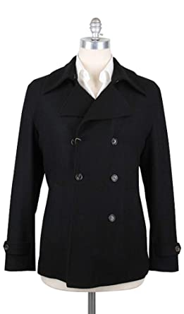 0212fc25675ab Luciano Barbera New Black Jacket 40 50 at Amazon Men s Clothing ...