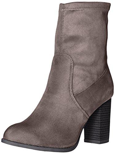 Qupid Women's Zinc-02 Ankle Bootie Charcoal NvxgMRwN