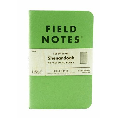 Amazon.Com : Field Notes Shenandoah Special Edition 3-Pk : Office
