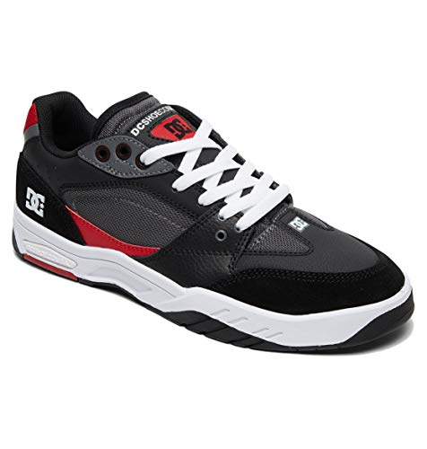 Shoes red Dc black Herren White Skateboardschuhe Maswell px0vxWw
