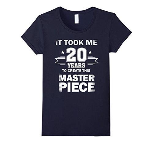 Halloween Costume Ideas 20 Yr Old (Womens Funny 20 Years Old Joke Shirt 20th Birthday Gag Gift Idea Medium Navy)