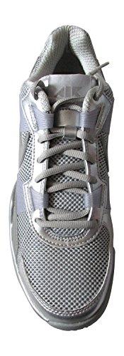 Low 5 zapatillas capacitadores las 5 Volt 7 de Sc 407846 Metallic deporte Trainer UK para Silver N 6 2010 hombre de para TSPqE
