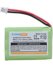 PowerTrust NI-MH Replacement Battery for Motorola MBP33 MBP36 MBP33S MBP36S MBP-33S MBP-36S MBP33BU MBP33P MBP35 MBP36PU MBP41 MBP43 MBP18 CB94-01A Baby Monitors