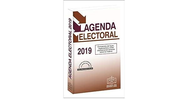Amazon.com: AGENDA ELECTORAL 2019 (Spanish Edition) eBook ...