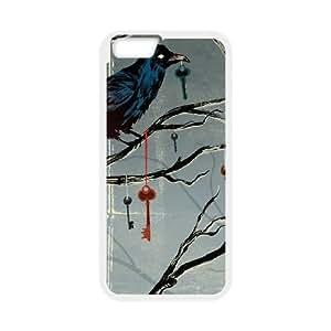 Noah MacMillan Dark Crow Halloween iPhone 6 4.7 Inch Cell Phone Case White phone component RT_332970