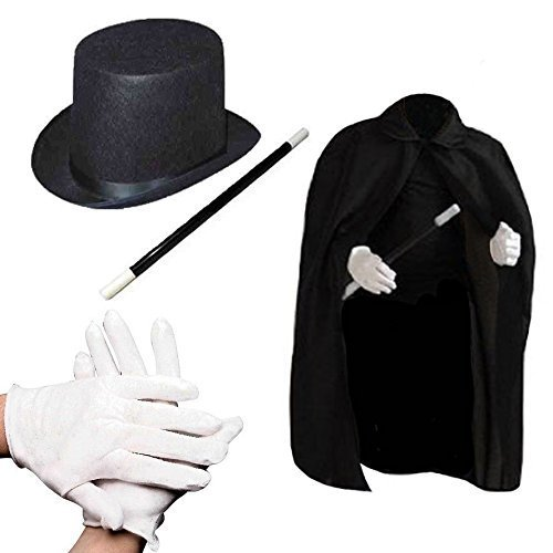Halloween Costumes Of Kids (Child's Halloween Magician Role Play Dress up Costume Set)