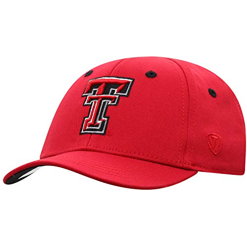 Red Infant 1 Fit Hat - Texas Tech Red Raiders Infant One-Fit Hat, Red
