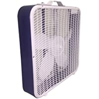 AEROSPEED 3-SPEED 20 IN. BOX FAN - BLUE