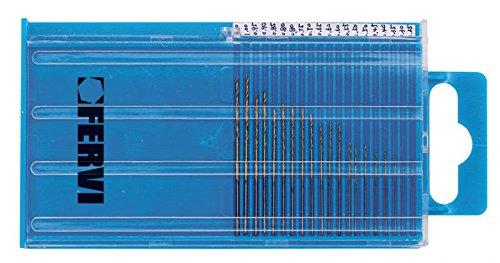 2 opinioni per 20 MICRO PUNTE IN HSS RIVESTITE AL TIN DA Ø 0,25 A 1 mm