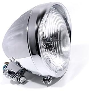 12V LED Kennzeichenbeleuchtung ABS Chrom für Suzuki chopper Motorrad +