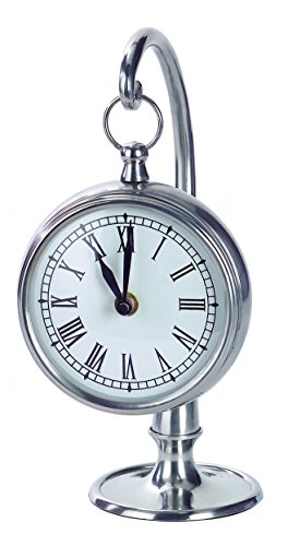 Imax 7870 Hanging Clock, Pewter