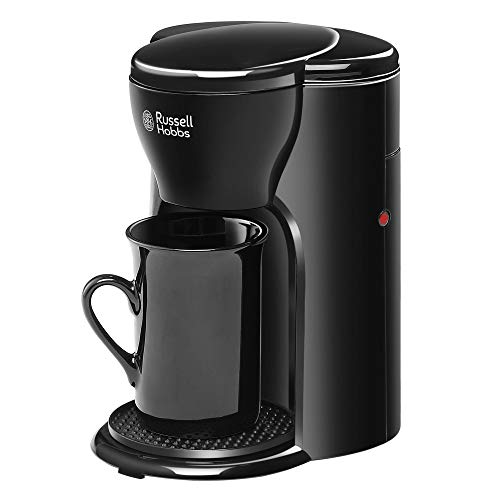 Russell Hobbs Coffee Maker with Ceramic Cup and Permanent Filter