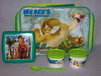 Tupperware Ice Age 3 Dawn of the Dinosaur Lunch Bag Set