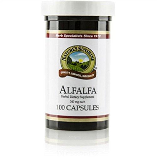 Nature's Sunshine Alfalfa 100 Capsules (Pack of 2)