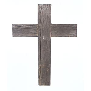 BarnwoodUSA Rustic 12 by 16 by 2 Inch Old Wooden Cross - 100% Reclaimed Wood 59