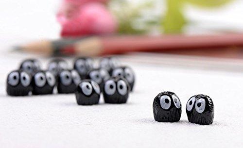 Micro Landscape Design 8 pcs Soot Spirit Totoro Figurines Fairy Garden Supplies Terrarium Accessories