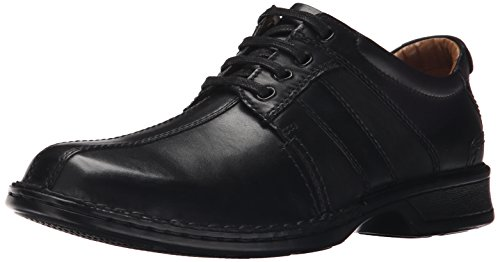 CLARKS Men's Touareg Vibe Oxford,Black,13 M US (Clarks Shoe Man)