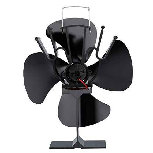 finether stromloser thermoelektrischer ventilator kaminventilator ofenventilator ohne strom. Black Bedroom Furniture Sets. Home Design Ideas
