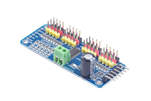 KNACRO 16-Channel 12-bit PWM Servo Driver Board IIC Interface PCA9685 Module Controller For Arduino Robot