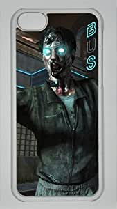 Game Call of Duty Black Ops II Zombies Custom PC Transparent Case for iPhone 5C by icasepersonalized