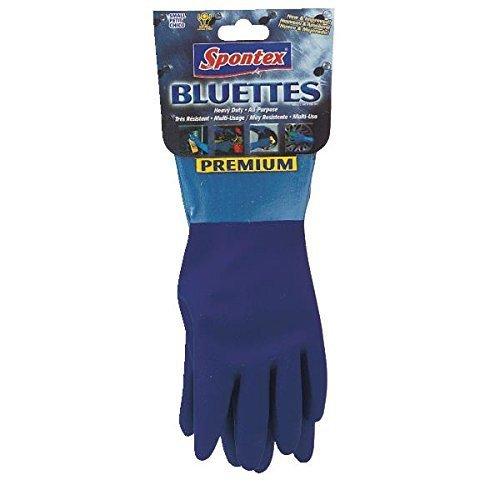 Bluettes Knit Rubber Glove by - Spontex Bluette Gloves