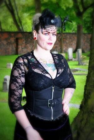 4 3 Coprispalle Maniche Classic Donna Black a DangerousFX IFqRCwU