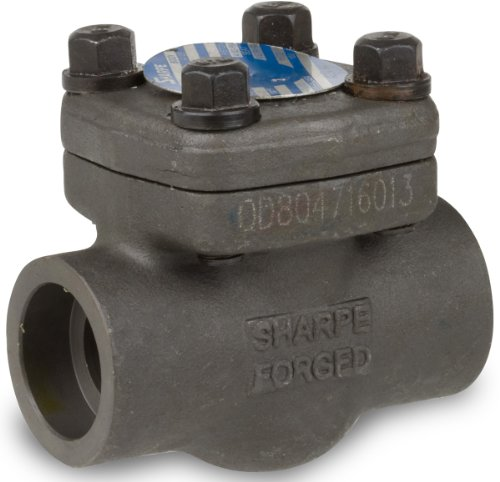 Piston Check Valve (Sharpe Valves 24834 Series Carbon Steel Piston Check Valve, Class 800, 3/4