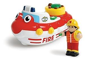 WOW Fireboat Felix - Bath Toys (2 Piece Set) by WOW