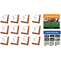 Penalty Box - Full Body Workout Program - Body Resistance, Agility, Speed, Power, Footwork, Explosive Plyometrics Training - Agility Grid & Hurdle All in One with Bonus Exercises