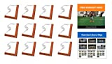 Penalty Box- Full Body Workout Program with Over 119 Exercises Based Around a Patented Fitness Product That is an Agility Grid & Hurdle All in One (12 Pack)