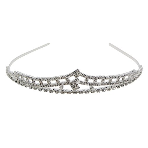 Crystal Superhero Costume (Rosemarie Collections Women's Bridal Crystal Rhinestone Crown Tiara Headband)