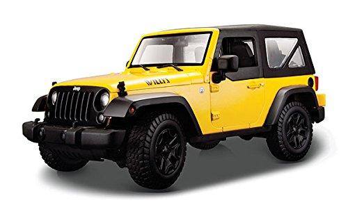 Amazon.com: Maisto 2014 Jeep Wrangler (Willy'S Edition) cast ...
