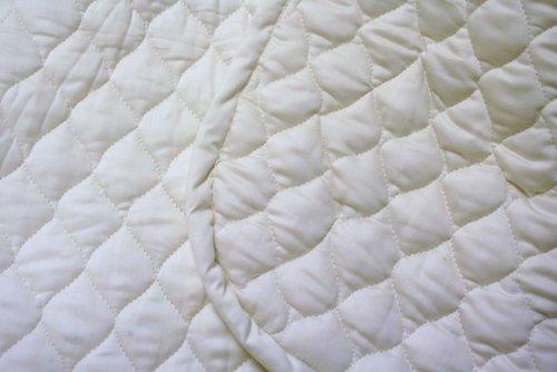 Organic Cotton Mattress Pad With Organic Filling Porta