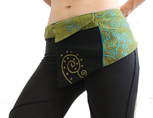 Pocket Belt Skirt- Pockets - Belt Bag - Festival Bag - Felted...