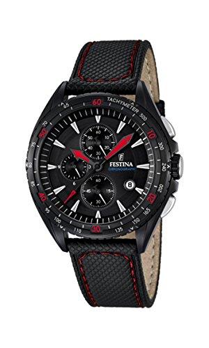 Men's Watch - FESTINA - Leather Band - Chronograph - F16847/4