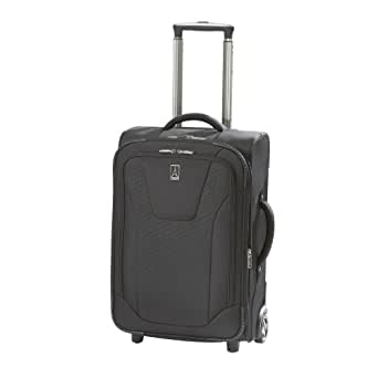 """Travelpro Luggage Maxlite 2 22"""" Expandable Rollaboard, Black, One Size"""