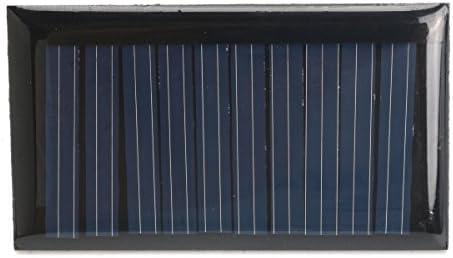 dDanke 30mA 5V 53* 30mm Micro Mini Power Solar Zellen 1ohne Kabel für Solarzellen