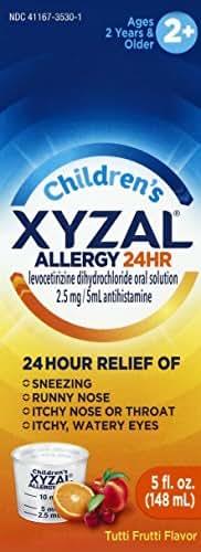 Allergy & Sinus: Xyzal Children's Liquid