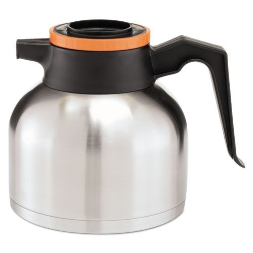 Bunn 40163.0001 Stainless Steel Thermal Decaf Carafe - 64 - Thermal Bunn O-matic