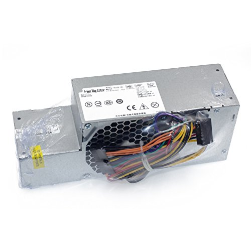 HotTopStar 235W FR610 WU136 PW116 67T67 RM112 R224M 235W Dell Power Supply for Optiplex 760, 960 780 580 SFF Systems, Model Numbers H235P-00 L235P-01 L235P-00 H235E-00 F235E-00 L235ES-00