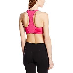 New Nike Women's Victory Shape Bra Vivid Pink/Cool Grey/White Small
